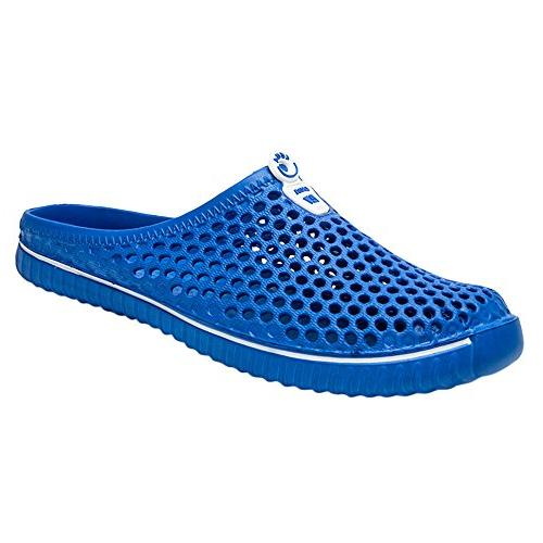 YOcheerful Shoes Men Shoes Hollow Couple Flops