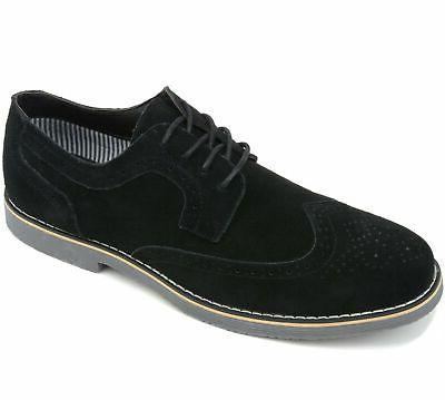 Alpine Dress Shoes Wing Up Oxfords