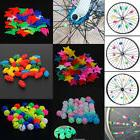 Bicycle Bike Wheel Plastic Spoke Bead Children Kids Clip Col