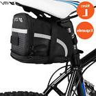 BV Bike Seat Saddle Bag, Bicycle Rear Tail Strap-On Pouch La