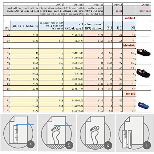 Shenn Boys' Black Shoes S8884 US1