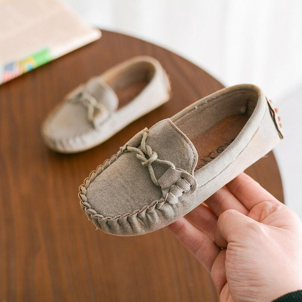 Toddler Kid Slip Soft Casual Flats Shoes