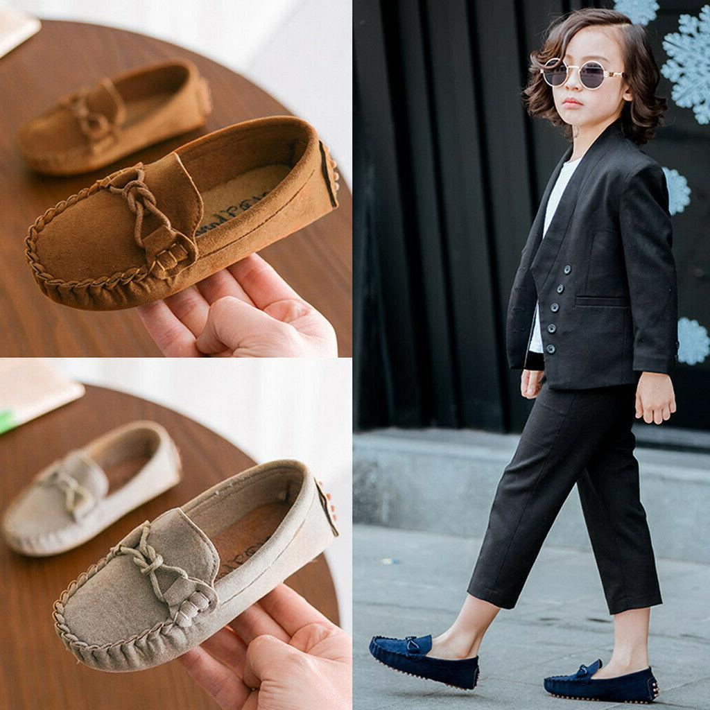 Toddler Kid Slip Soft Casual Holiday Flats Shoes