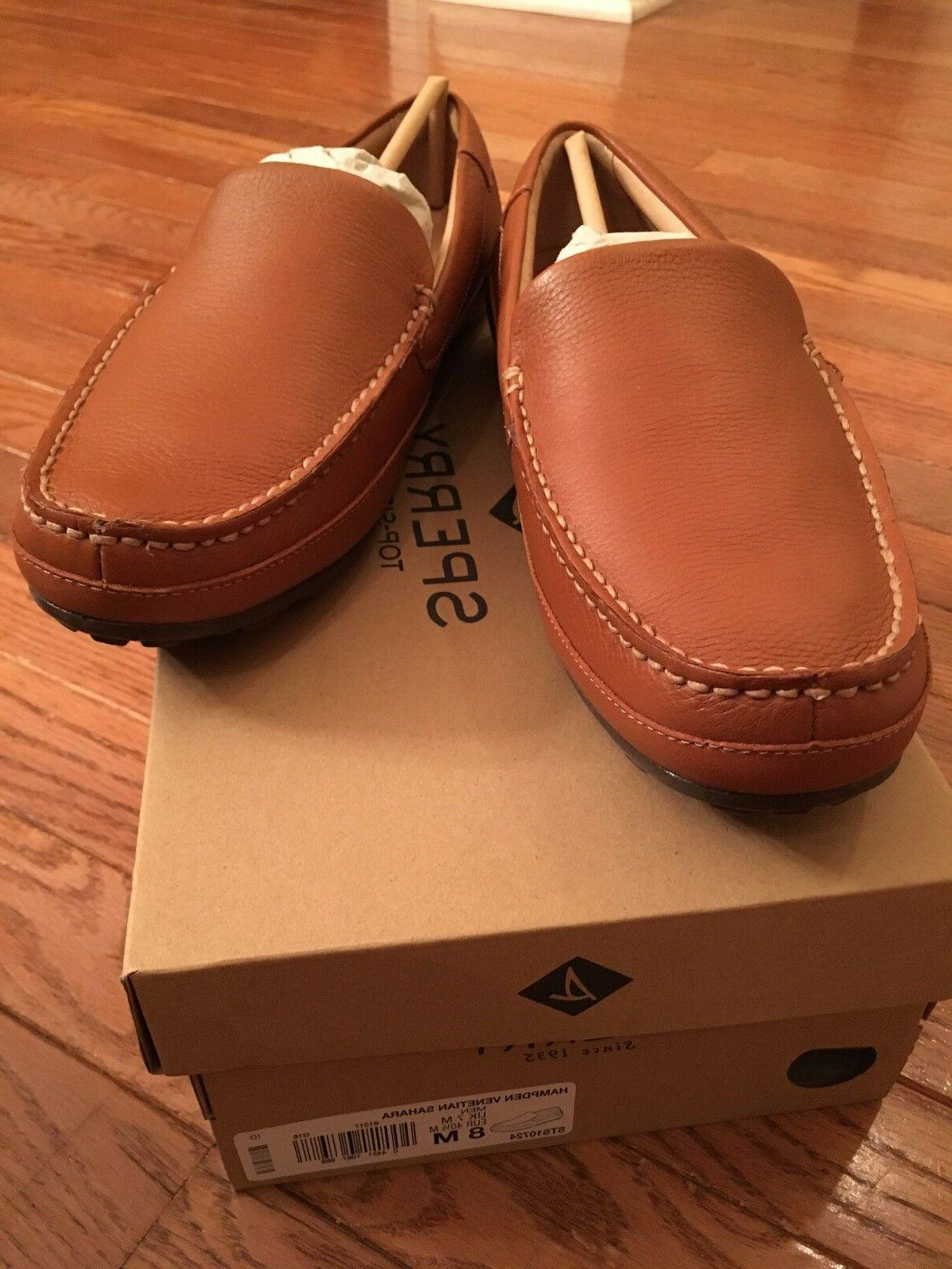 Brand New Men's Hampden Loafer, Sahara, US
