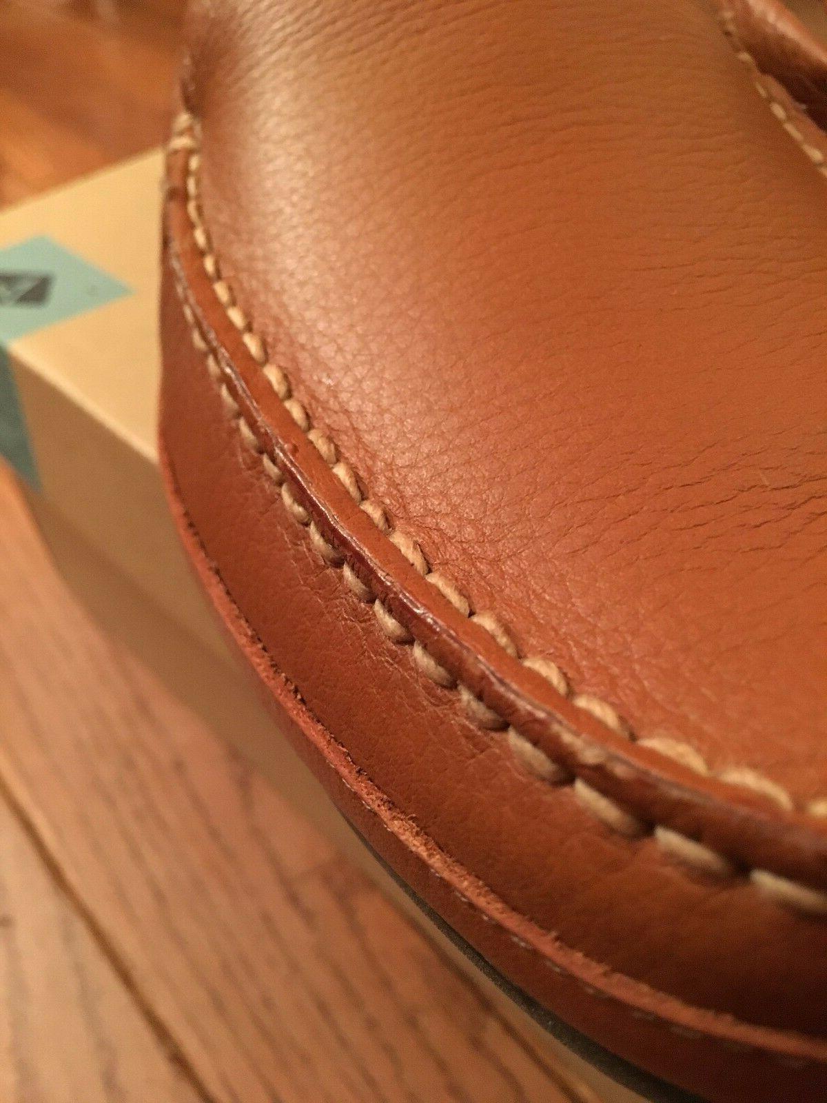 Brand Men's Hampden Venetian Slip-On Loafer, Sahara, US