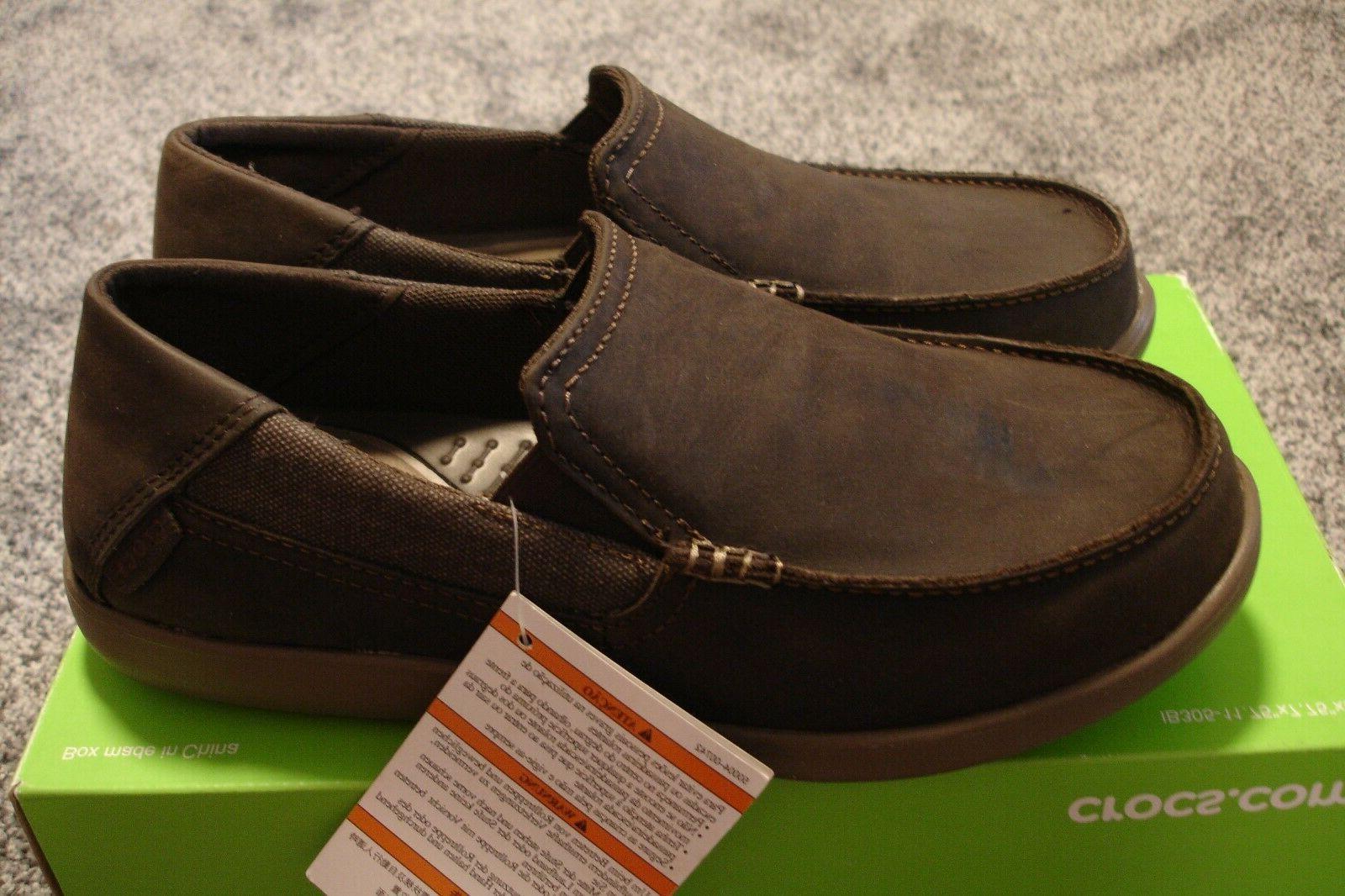brown santa cruz 2 loafers boat shoes
