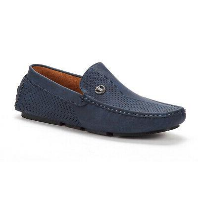 Men's Penny Casual Moc-Toe Slip Boat Shoe Driving Size US