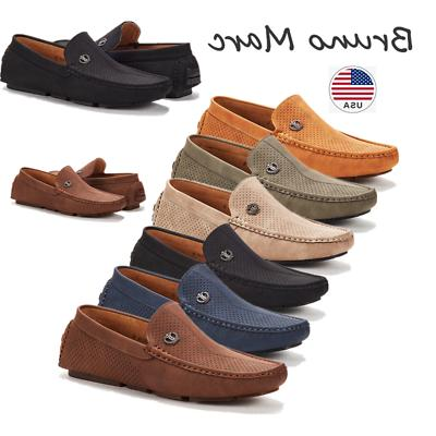 bruno marc men driving loafers dress shoes
