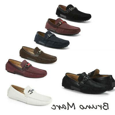 bruno men s penny casual loafers moccasins