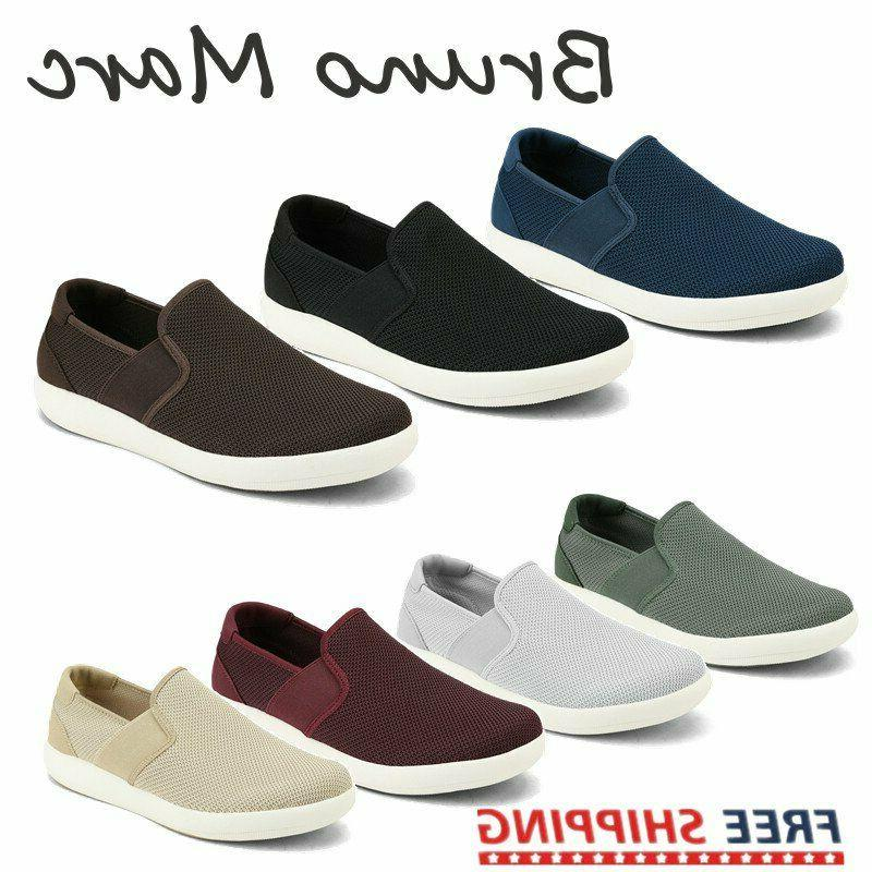 bruno men s slip on casual shoes