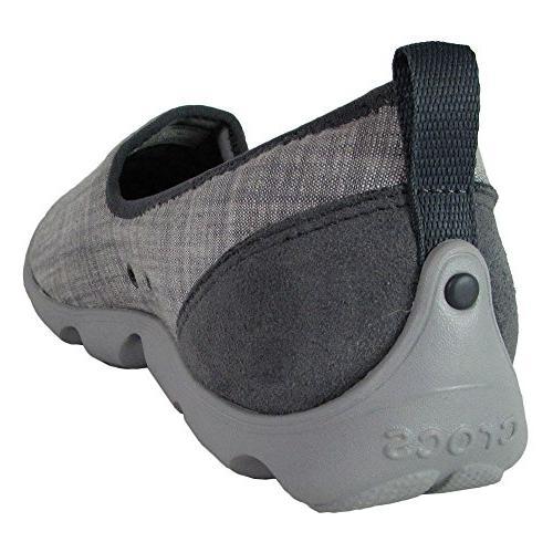 Crocs Chambray Skimmer Loafer