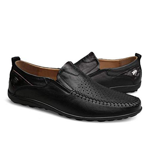 High end Men Shoes Men Slip Men's Breathable Male Driving