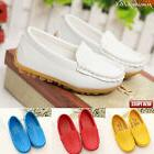 Children Kid Baby Boys Girls Shoes Leather Boat Shoes Sneake