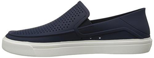 crocs Men's Citilane Slip-On , Navy/White, M