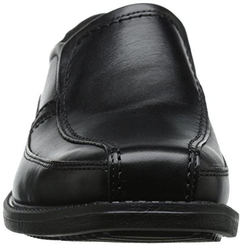 Rockport Men's Style Bike On Slip-On Loafer- Black-9