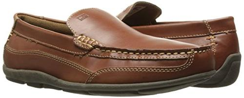 Tommy Hilfiger Men's Driving Style Loafer, Brown 12 M US