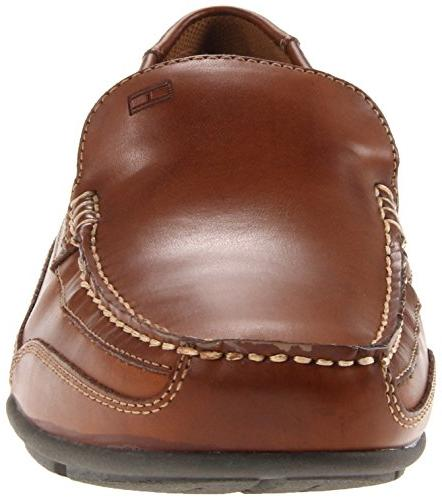 Tommy Hilfiger Driving Loafer, Brown US