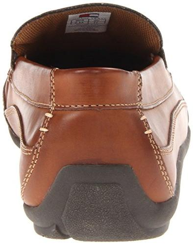 Tommy Hilfiger Dathan Driving Style Brown Leather, 12 US