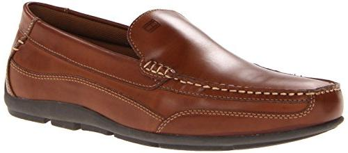 Tommy Driving Loafer, Brown Leather, US