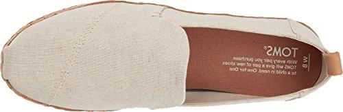TOMS Deconstructed Cork Slip-On, Size: 8.5 B Color: