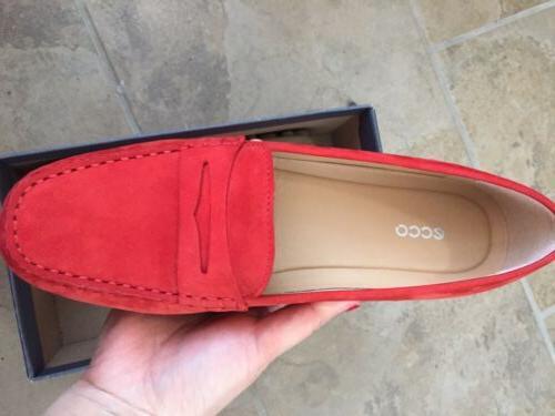 Ecco Moc Loafers Blush 9-9.5 40