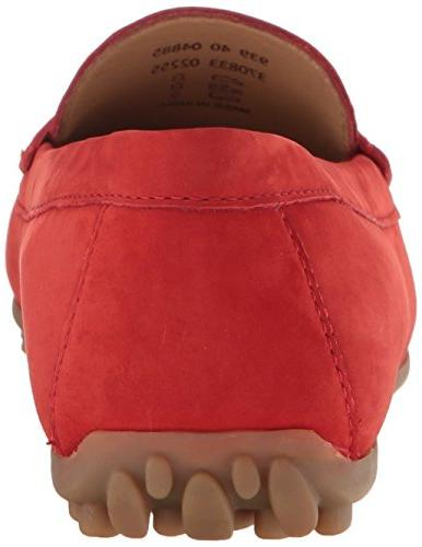 ECCO Women's Moc Penny Loafer, Coral Blush, US