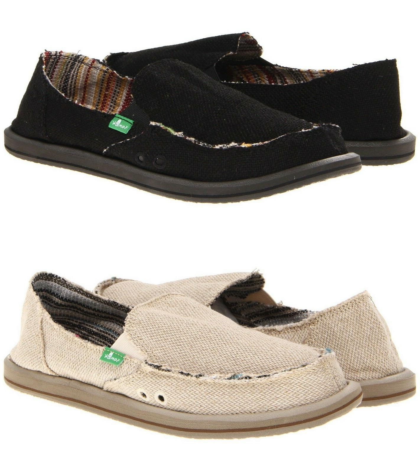 donna hemp women shoes slip on flat
