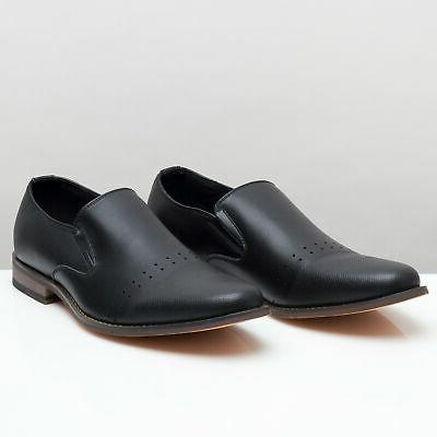 Alpine Diamond Men's Slip-On Dress Shoes