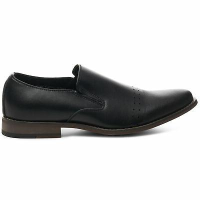 Alpine Swiss Double Men's Leather Dress Shoes 11