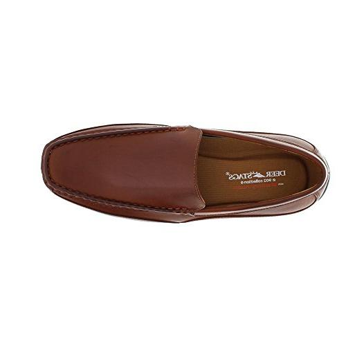 Deer Medium/Wide Moc Toe Slip On Loafers - 13.0 W