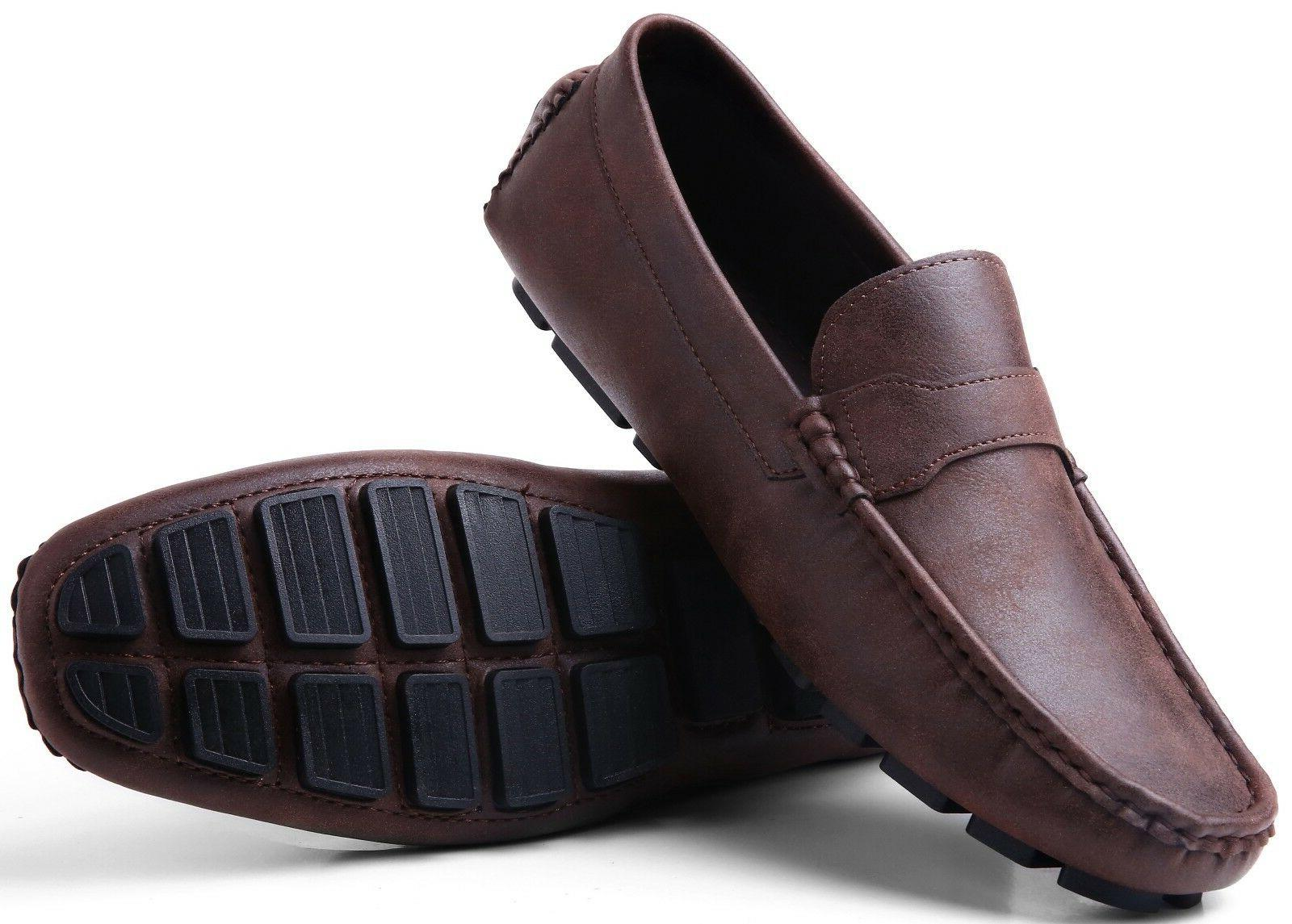 driving shoes for men casual moccasin loafers