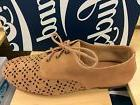 Lucky Brand Dyana Women's Oxfords Loafers Suede Lace Up Shoe