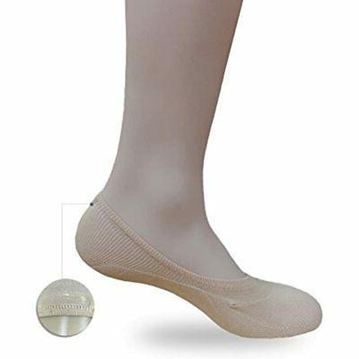 Eedor Mens No Show Casual Cut Ankle, Non-Slip
