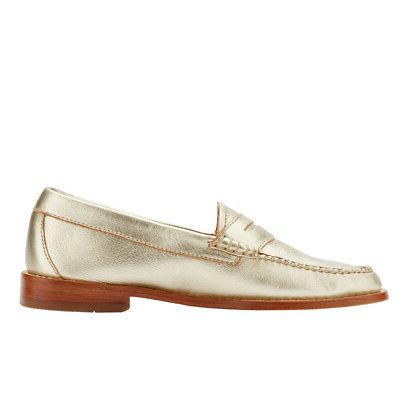 G.H. Bass Womens Genuine Leather Weejuns Slip-on Shoe