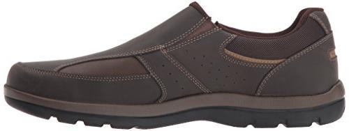 Rockport Men's Get Kicks Slip On brown, 14 W