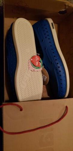 Native Loafers Unisex Men's Women's Blue Shoes