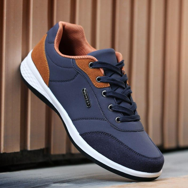 HUNNISE Casual Sneaker Summer for Shoes <font><b>Men</b></font> Leather Spring <font><b>Men</b></font> Shoes