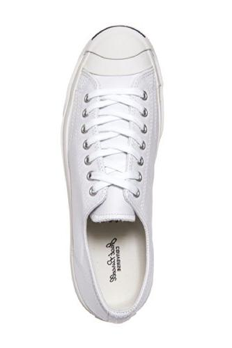 Converse Jack Purcell Leather Fashion-Sneakers, US Women /