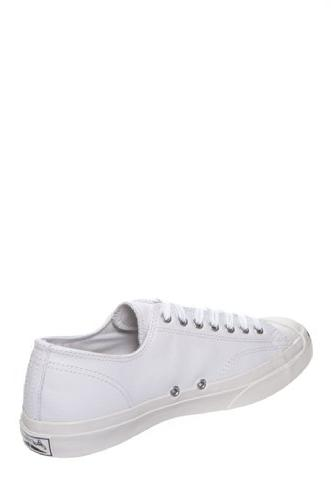 Converse Jack Purcell Leather Fashion-Sneakers, White, US Women / D