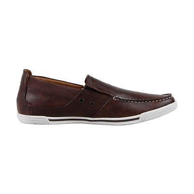 Kenneth Loafer Mens Brown Slip On Shoes