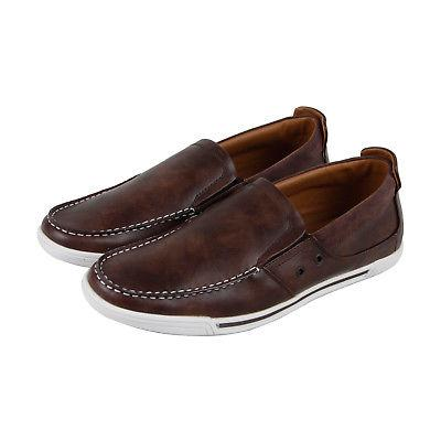 kenneth cole unlisted press loafer mens brown