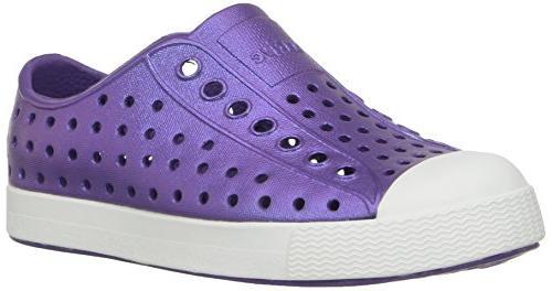 kids jefferson iridescent child shoe starfish purple