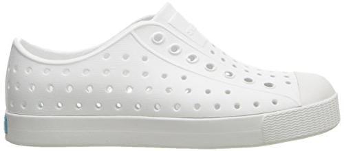 native Kids Proof Shoes, White/Shell White, Medium Toddler