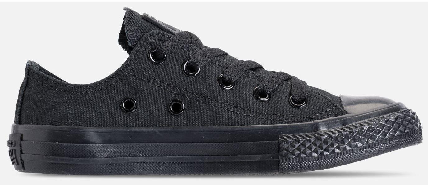 Converse Kids' TAYLOR OX Shoes Black Monochrome c