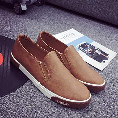 SmarketL High end Shoes Men Loafers Walking Shoes Men Leather