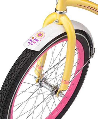 "Schwinn Maddy Cruiser Bicycle, 20"" Yellow"