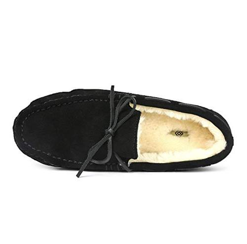 DREAM Black Loafers Shoes 7.5 M