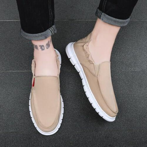 Men's Shoes Penny Slip-on Sneakers Boat Shoes