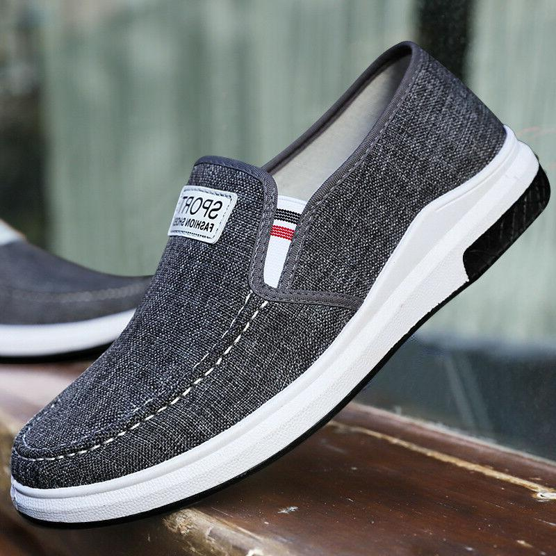 Men's Casual Breathable Shgoes Sneakers Slip on