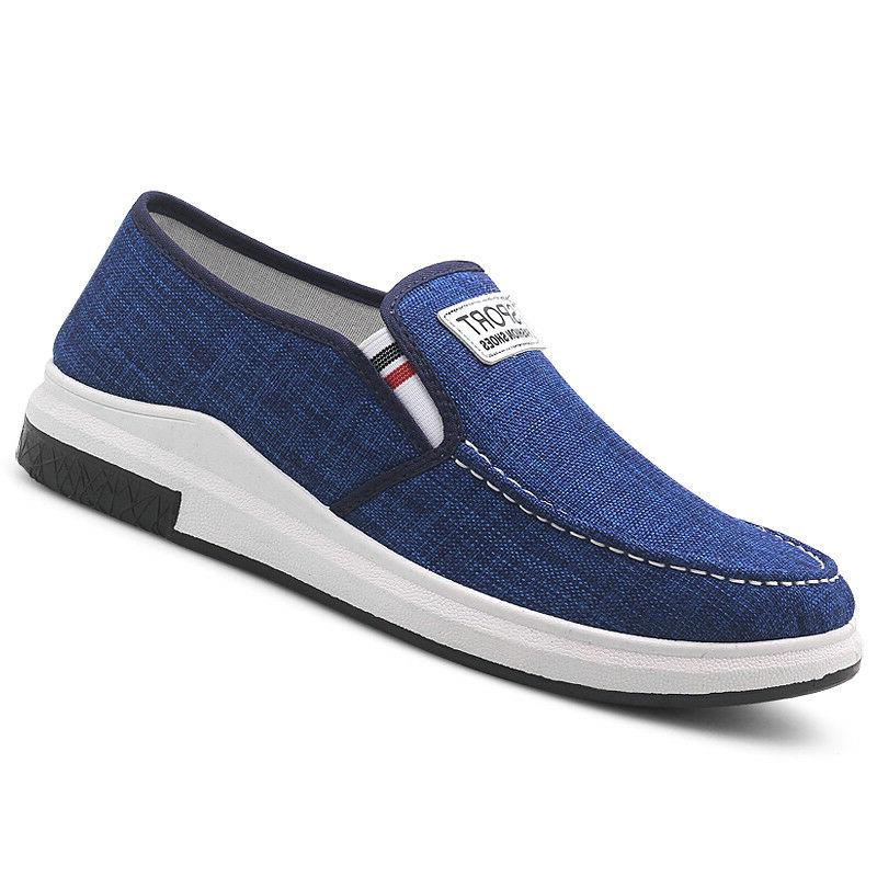 Men's Breathable Shgoes Sneakers Driving Slip on